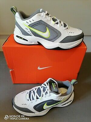 Nike Air Monarch IV Scarpe uomo 415445 101 bianco grigio