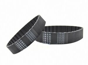 """180H to 295H Rubber Timing Belt Trapezoid Tooth Pitch 1//2/"""" Width 10-50mm Select"""