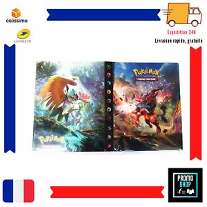Pokémon Classeur 240 Carte Album GX EX Collection 30 Pages Protecteur Incineroar