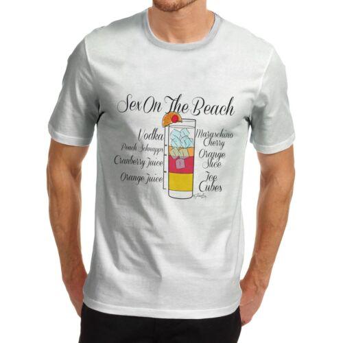 Twisted envy men/'s cocktail exotique recette à manches courtes t-shirt