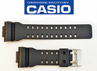 Casio G-shock Watch Band Black Ga-110rg Rubber Black Strap Ga110rg