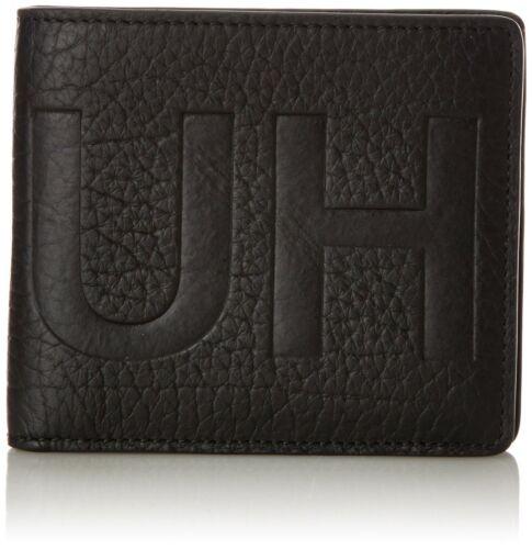 MEN/'S HUGO BOSS Leather Wallet Black /'Victorian L 4 cc/' Bi-fold RRP £99 BOXED
