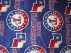 3-YARDS-of-MLB-TEXAS-RANGERS-BASEBALL-ANTI-PILL-FLEECE-FABRIC