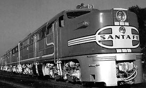 Santa-Fe-Super-Chief-photo-Locomotive-51-ALC0-PA-PB-ATSF-Railroad-train