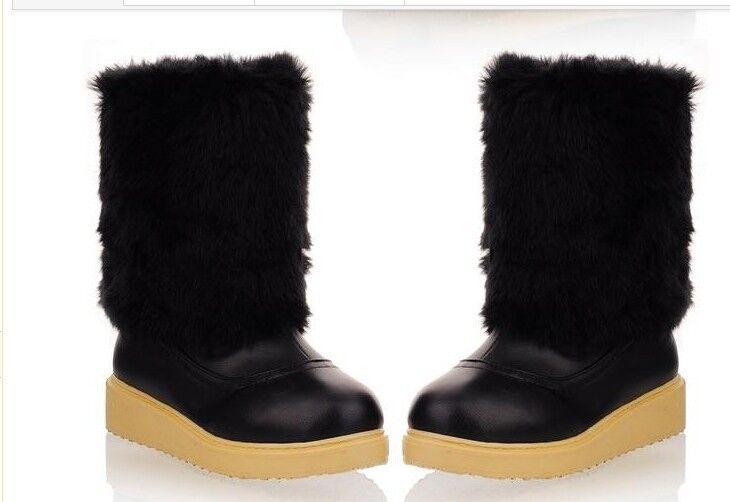 Stivaletti stivali scarpe donna tacco tacco tacco spillo 4 cm simil pelle comodi caldi 9062 | Regalo ideale per tutte le occasioni  2d08f3