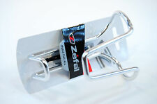 Zefal Pulse Full Alu Bicycle Water Bottle Cage Silver