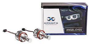 BMW-E90-E91-LCI-3er-40-Watt-LED-Angel-Eyes-Cree-Chip-Marker-Corona-Ringe-H8-a1