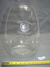 verre lampe tempête en cristal hauteur 14 cm (réf R 91) lampe pétrole