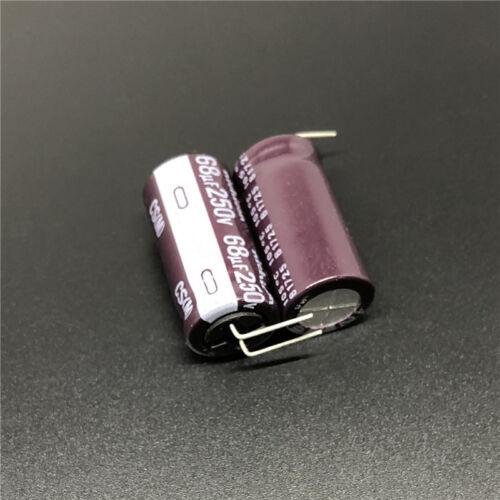 10//100pcs 68uF 250 V Nichicon CS 12.5x25mm 250V68uF haute Ripple actuel Condensateur