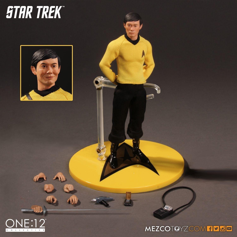 Star Trek Propagandakompanie Hikaru Sulu Action Figure Mezco Toyz George Takei
