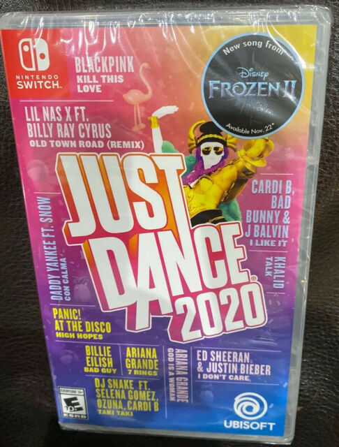 Just Dance 2020 for Nintendo Switch - BRAND NEW & FACTORY SEALED - SAME DAY SHIP