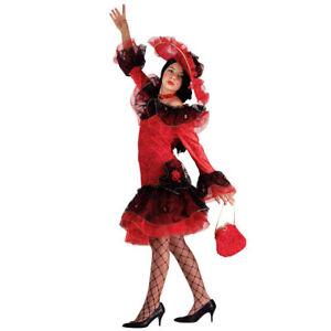 Caricamento dell immagine in corso Costume-Vestito-Carnevale-Bimba -BALLERINA-FLAMENCO-SPAGNOLA-5- 0b256ee79be