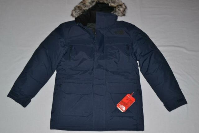 The North Face Mens McMurdo Parka III Urban Navy 2xl XXL Authentic