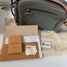 80cca2f7a0bc AUTHENTIC Louis Vuitton Monogram Titanium Camera Bag Kim Jones Runway  M43884 US