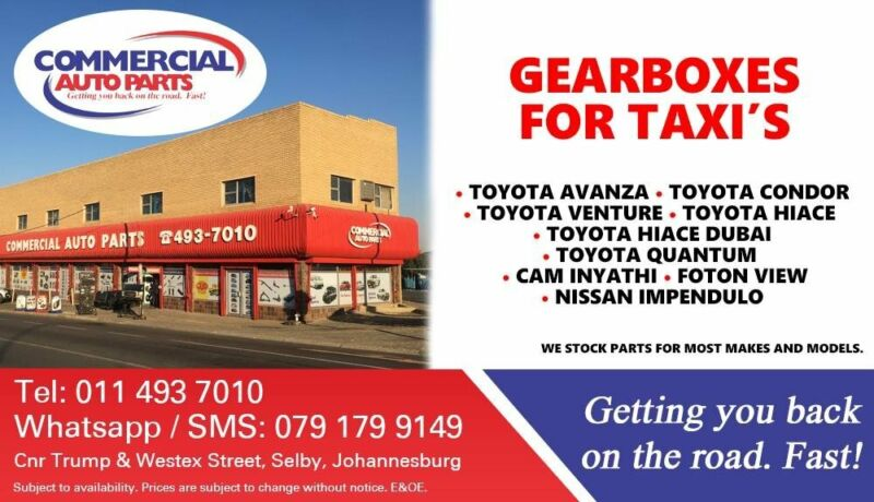 Gearboxes for Most Taxi Makes and Models For Sale