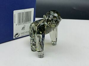 SWAROVSKI-Figurine-955440-Gorilla-Youngster-2-3-8in-Boxed-amp-Zertifikat-Top