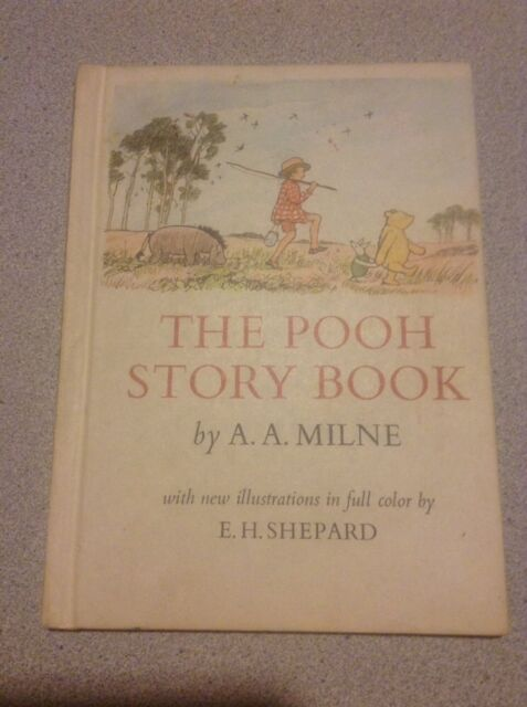 Vintage* THE POOH STORY BOOK by A. A. Milne *good condition