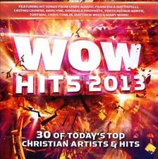 WOW Hits 2013: 30 of Today's Top Christian Artists & Hits by Various Artists (CD, 2012, 2 Discs, Wow Gospel Hits)