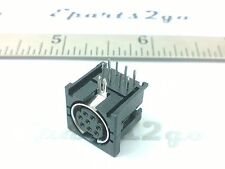 8X MINI DIN8 8PIN FEMALE PCB MOUNT JACK visca control cable socket connector 8a