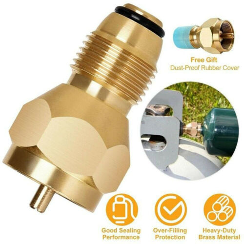 Propane Refill Adapter Gas Cylinder Tank Coupler Heater For Camping-Cooking BBQ