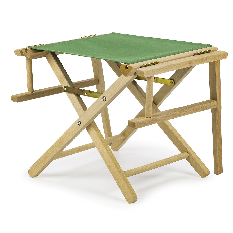 REGIESTUHL Campingstuhl Stuhl aus Holz Campingstuhl REGIESTUHL - SCHWARZ 60f1ff