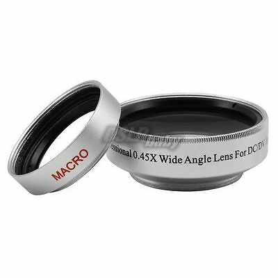 37mm 0.45x Wide Angle Lens & Macro Conversion Lens 0.45x 37