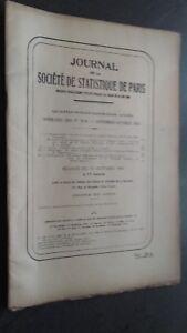 Giornale-Della-Societa-Di-Statistiche-Di-Parigi-Sept-Oct-1941-Del-N-9-10-ABE
