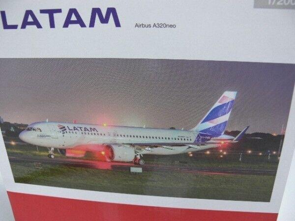 1 Wings 200 Herpa Wings 1 LATAM Airbus a320neo 558341 eba357