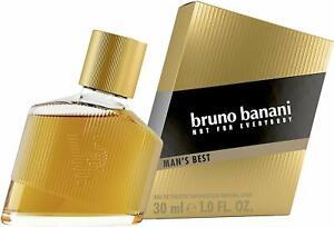 Bruno-Banani-Man-039-S-Best-Eau-De-Toilette-Herren-Parfuem-Natural-Spray-Ele