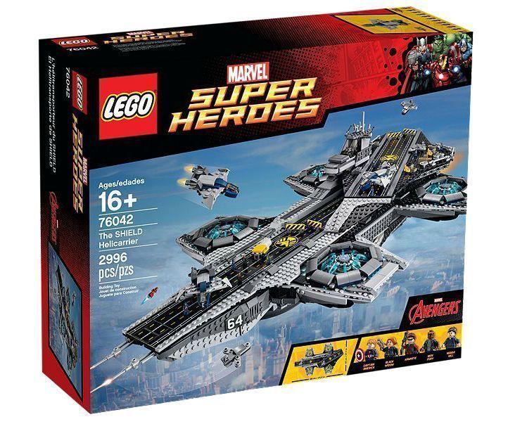 Lego super heroes la Shield héliporteur (76042)