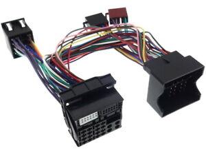 Pappagallo-Thb-Adattatore-Bmw-40-Perno-Bluetooth-Quadlock-Iso-Cavo-Radio-Spina