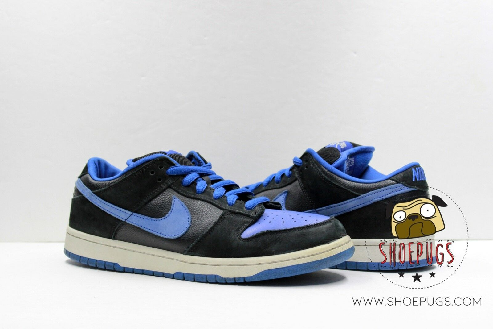 2005 Nike Dunk SB Low J Pack Royal sz 11 black bluee worn   TRUSTED SELLER