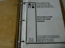 Hyster Spacesaver S30 S40 S50e S60es Forklift Parts Manual Book