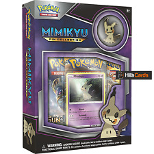 Pokemon TCG: Mimikyu Pin Collection Box: Booster Packs, Promo Cards + Pin Badge