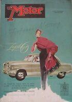 Motor magazine 15/4/1953 featuring Jaguar XK engine