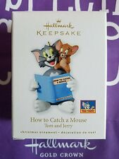 HALLMARK 2010 HOW TO CATCH A MOUSE TOM AND JERRY MIB