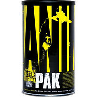 Universal Animal Pak Performance Multivitamin 44 Packages Bodybuiding Vitamins