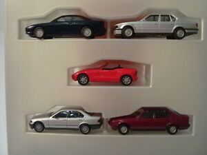 Herpa-h0-bmw-sonderset-5-modelos-BMW-82229414131-OVP-impecable
