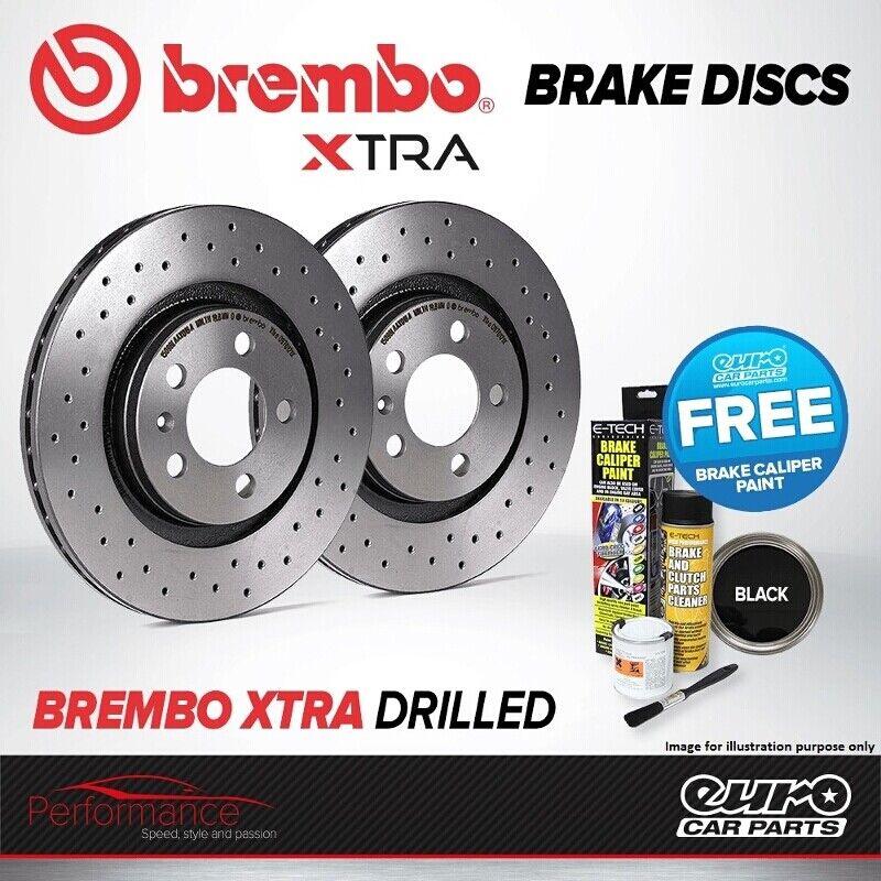 Set di 2 Brembo 08.5178.3X Disco Freno Posteriore