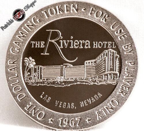 $1 PROOF SLOT TOKEN THE CASTAWAYS HOTEL CASINO 1968 FM MINT LAS VEGAS NEVADA NEW