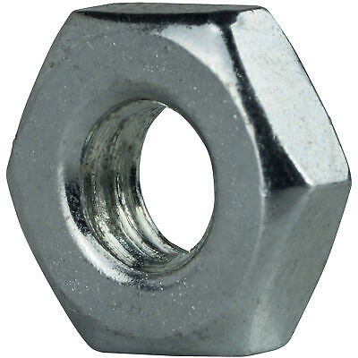 """Qty 1 1-1//8/""""-7 Low Carbon Grade 2 Finished Hex Nuts Zinc Plated"""