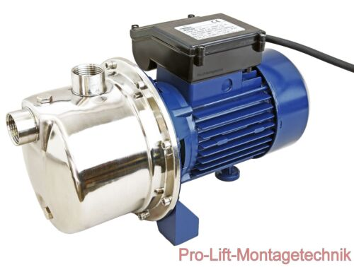 750W selbstansaugend Wasserpumpe 3,6m³//h Gartenpumpe Brunnenpumpe MJS100J 02019