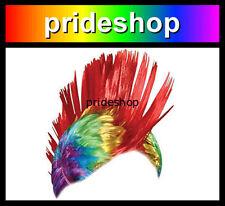 20416aff5d367 item 7 Rainbow Wig Mohawk Adult Punk Rock Hat Lesbian Gay Pride Costume Party  Cap  1435 -Rainbow Wig Mohawk Adult Punk Rock Hat Lesbian Gay Pride Costume  ...