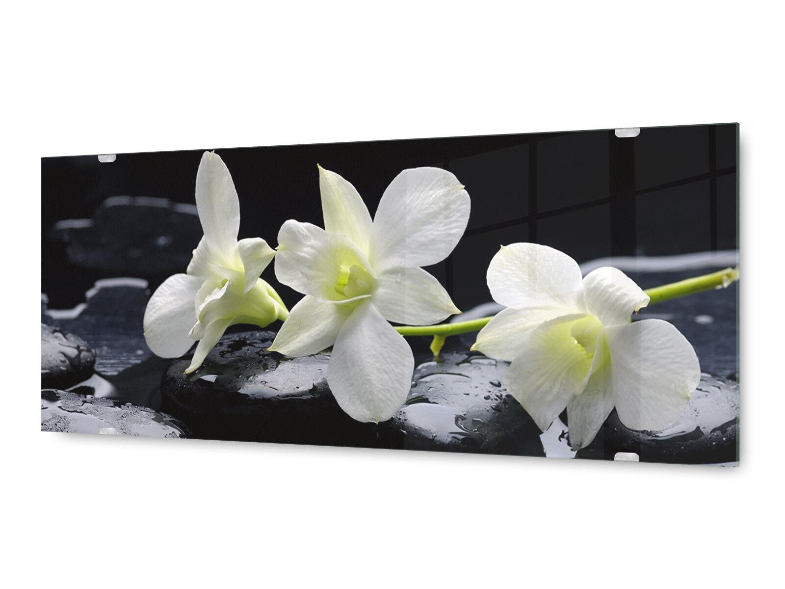 Image la fresque glx12528704783 fleurs feng shui 125 x 50 cm