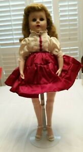 Vintage-Valentine-17-VW-Doll-18-034-Jointed-at-knees-and-feet-Comes-with-Stand