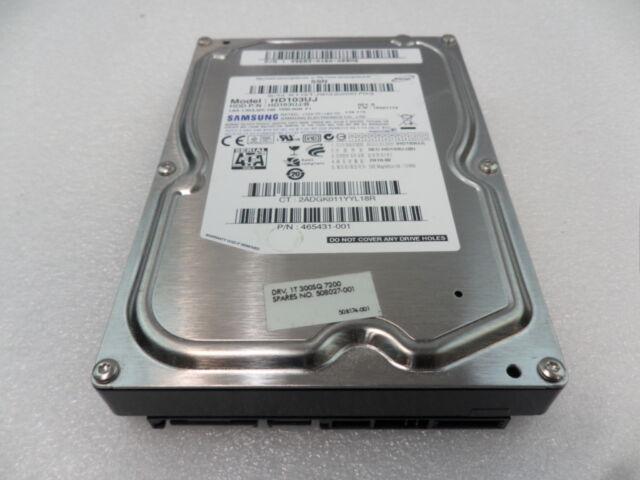 """508027-001 HP 1TB 3G 7.2K RPM SATA 3.5"""" Hard Drive HP Z800 465431-001"""