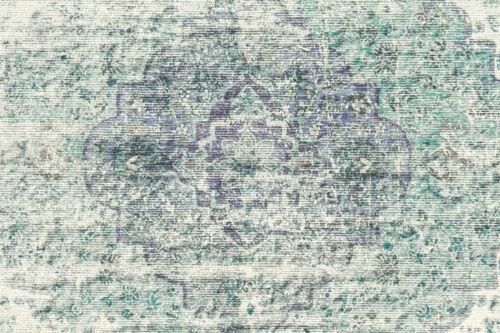 Arte Espina Teppich Vintage Oriental Design Creme Türkis Lila 200x290cm