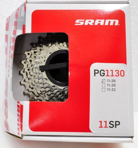 Force 22 1170//Red 22 1190 Usable SRAM Rival 22 PG-1130 11 Spd 11-26T Cassette
