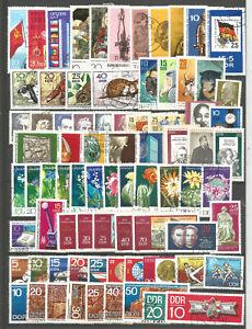 DDR-1970-gestempelt-kompletter-Jahrgang-mit-allen-Einzelmarken