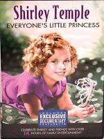 Shirley Temple: Everyone's Little Princess 4 Dvd Box,$24 Free Ship,23 Shows